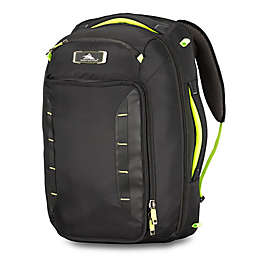 High Sierra® AT8 22-Inch Convertible Duffle Bag in Black/Lime