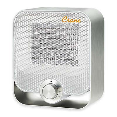 Crane® Aluminum Ceramic Personal Heater in White