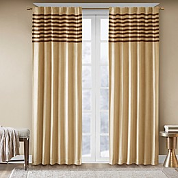 Madison Park Dune 2-Pack Rod Pocket Window Curtain Panels