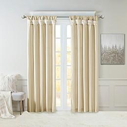 Madison Park Emilia Twist Tab Window Curtain Panel