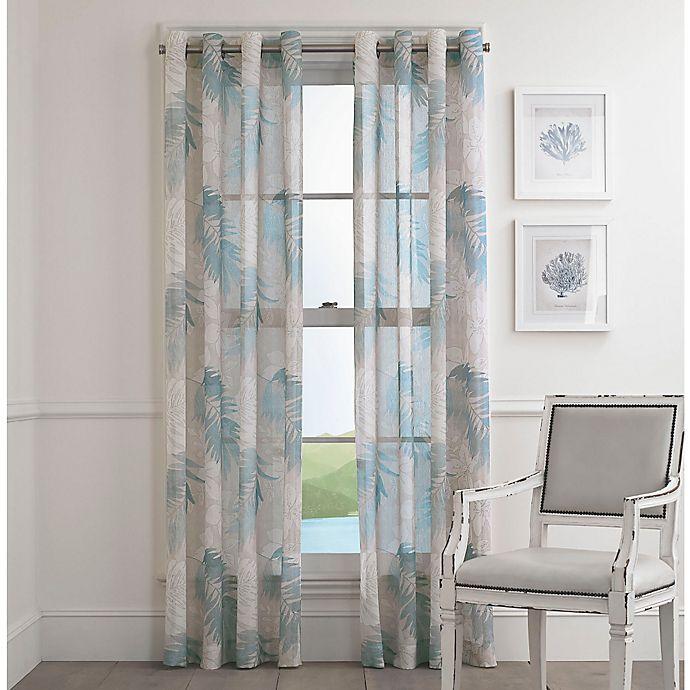 Alternate image 1 for St. Croix Grommet Top Sheer Window Curtain Panel
