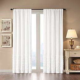 Madison Park Bessie Rod Pocket Window Curtain Panel