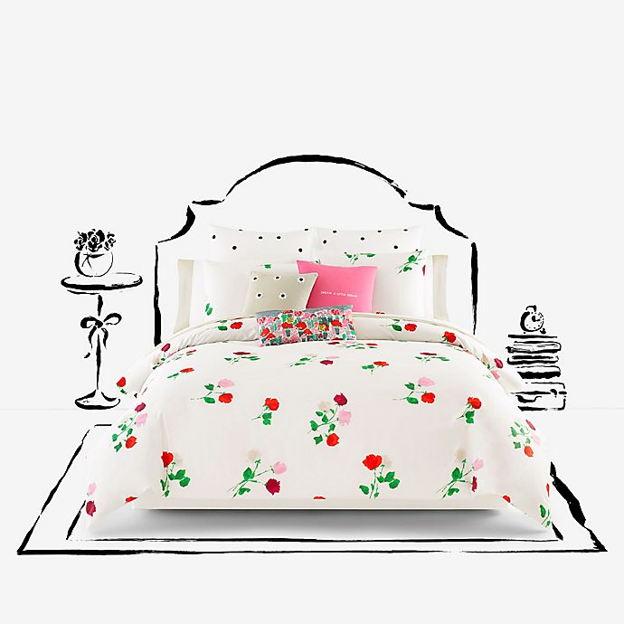 Kate Spade New York Willow Court Maraschino Comforter Set