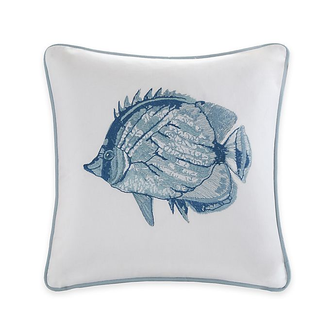 Alternate image 1 for Harbor House™ Seaside Fish Throw Pillow