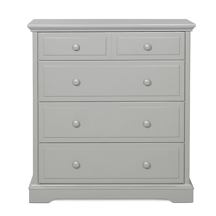 Alternate image 1 for Child Craft™ 4-Drawer Chest in Cool Grey