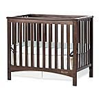 Child Craft™ London Euro 2-in-1 Convertible Mini Crib in Slate