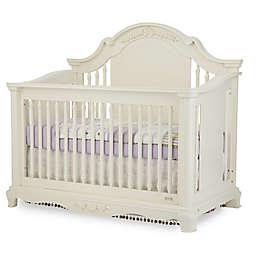 Bassettbaby® Premier Addison 4-in-1 Convertible Crib in Pearl White