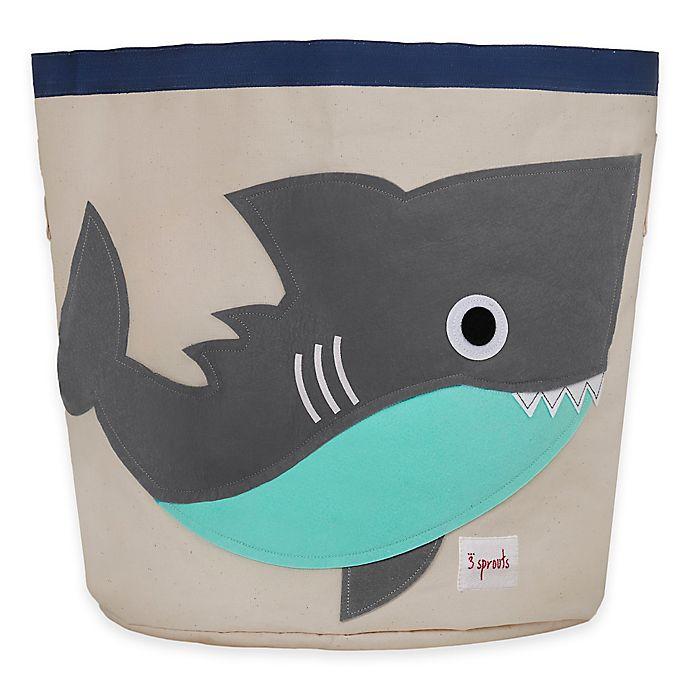 Alternate image 1 for 3 Sprouts Shark Storage Bin