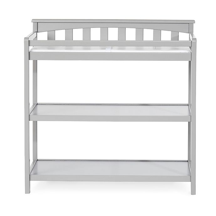 Alternate image 1 for Child Craft™ London Euro Flat Top Changing Table in Cool Grey