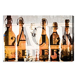 Oliver Gal Birra Canvas Wall Art