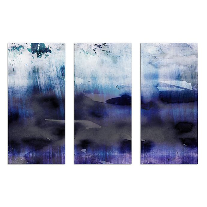 Alternate image 1 for Oliver Gal Artist Co. Agitato Triptych 3-Piece Canvas Wall Art