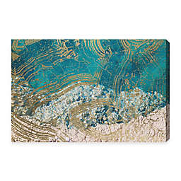 Oliver Gal Salt Water 45-Inch x 30-Inch Canvas Wall Art