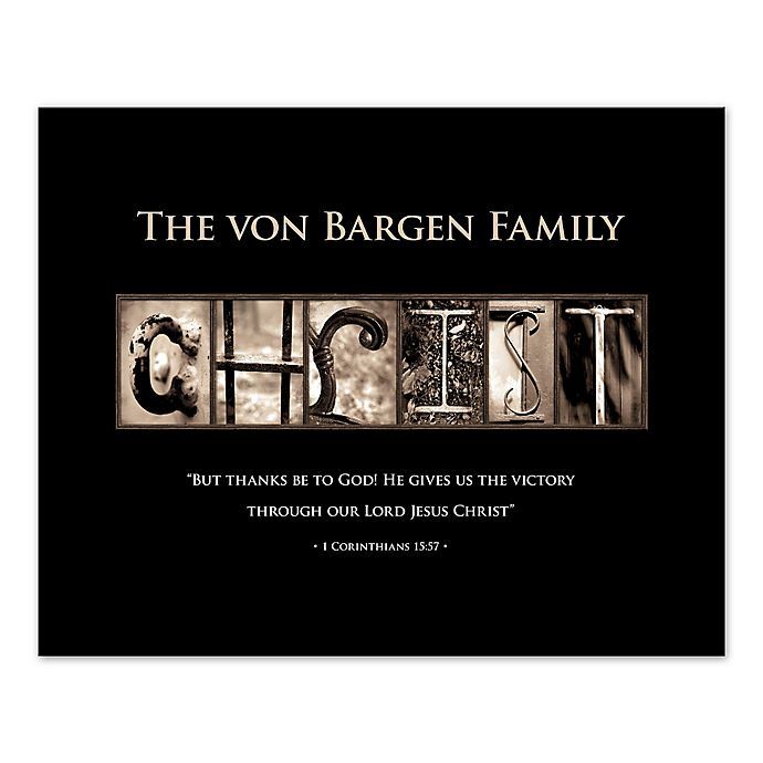 Alternate image 1 for Pied Piper Creative Family and Christ Canvas Wall Art