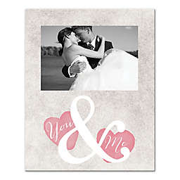 You & Me Canvas Wall Art