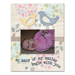 """""""My Smiles Begin with You"""" Wall Art"""