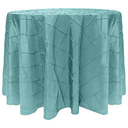 Ultimate Textile Bombay Diamond Stitched Round Tablecloth