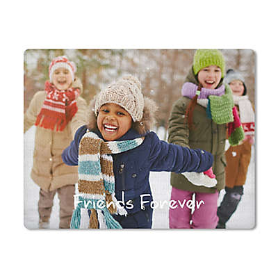 Woven Photo Placemats (Set of 4)