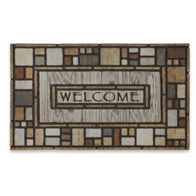Mohawk Home 174 Tiles Galore 18 Inch X 30 Inch Recycled