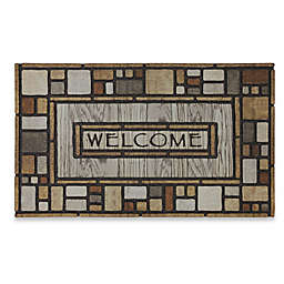 Mohawk Home® Tiles Galore 18-Inch x 30-Inch Recycled Rubber Door Mat