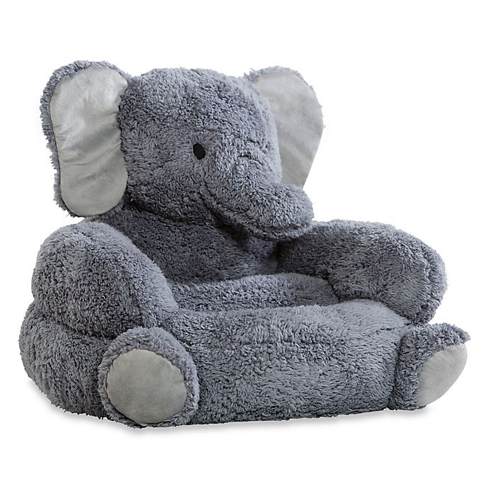 Alternate image 1 for Trend Lab Elephant Children's Plush Character Chair