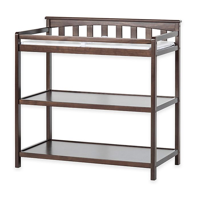 Alternate image 1 for Child Craft™ London Euro Flat Top Changing Table in Slate