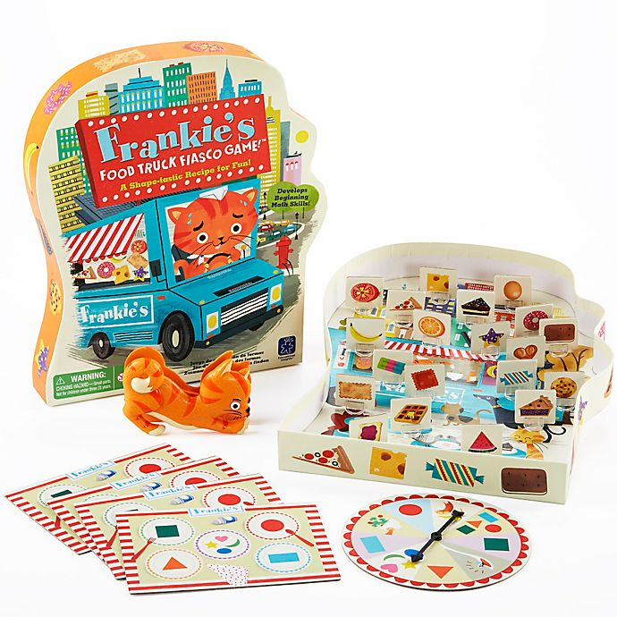 Alternate image 1 for Educational Insights® Frankie's Food Truck Fiasco Game