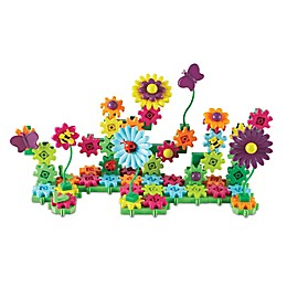 Learning Resources Gears! Gears! Gears!® Build & Bloom Flower Garden Building Set
