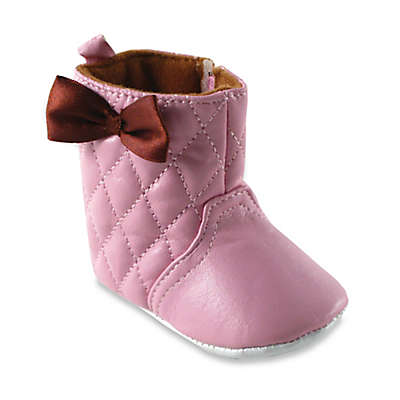 BabyVision® Luvable Friends® Quilted Boot in Pink