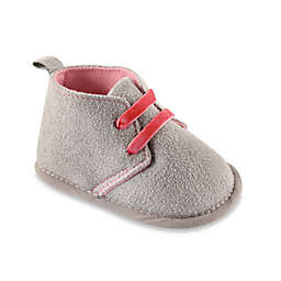 BabyVision® Luvable Friends™ Desert Boots in Grey/Pink