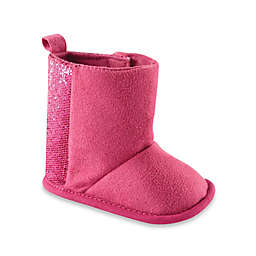 BabyVision® Luvable Friends® Sparkle Boots in Pink