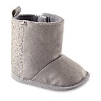 BabyVision® Luvable Friends® Size 0-6M Sparkle Boots in Grey