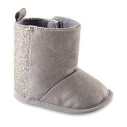 BabyVision® Luvable Friends® Sparkle Boots in Grey