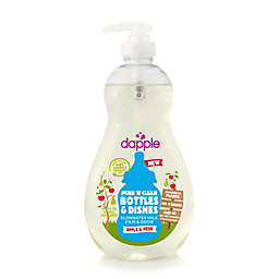dapple® 16.9 oz. Pure 'N' Clean Baby Bottle and Dish Liquid Cleaner in Apple Pear