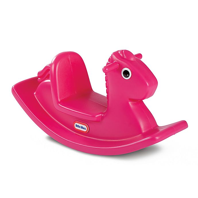 Alternate image 1 for Little Tikes® Rocking Horse in Magenta