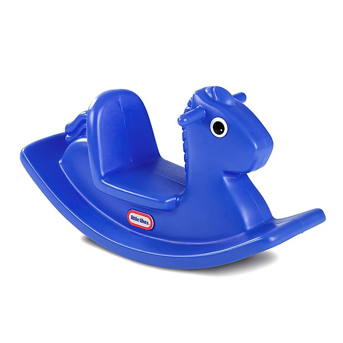 Alternate image 1 for Little Tikes® Rocking Horse in Blue