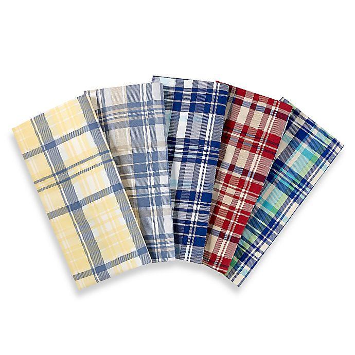 Alternate image 1 for Lakeside Living Plaid Pillowcases (Set of 2)