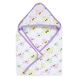 MiracleWare Owls Muslin Hooded Towel