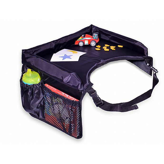 Alternate image 1 for Star Kids Snack & Play® Travel Tray in Black