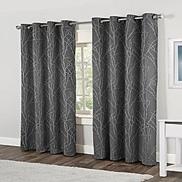 Finesse Grommet Top Window Curtain Panel Pair