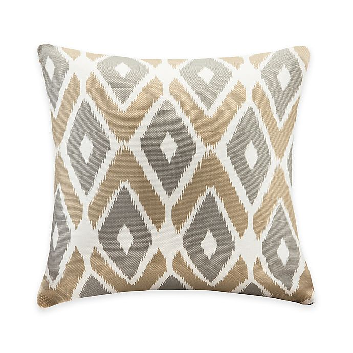 Alternate image 1 for Madison Park Ashlin Throw Pillow in Taupe