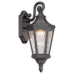 The Great Outdoors® Hanford Pointe 19-Inch Wall-Mount LED Lantern in Oil Rubbed Bronze