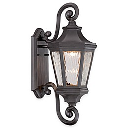 The Great Outdoors® Hanford Pointe 22-Inch Wall-Mount LED Lantern in Oil Rubbed Bronze