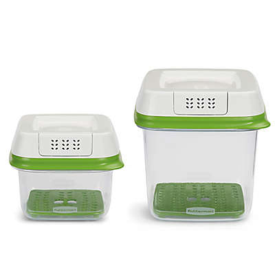 Rubbermaid® FreshWorks™  4 Piece Produce Saver Set