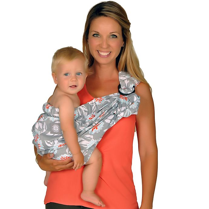 Alternate image 1 for Balboa Baby® Dr. Sears Original Adjustable Baby Sling in Grey Dahlia