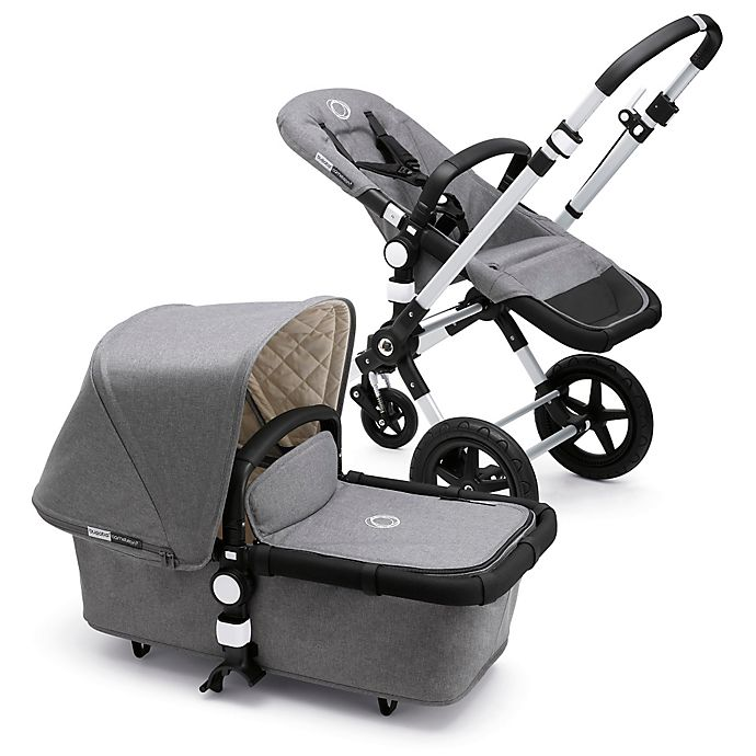 Alternate image 1 for Bugaboo Cameleon3 Classic Plus Collection Complete Stroller in Grey Melange