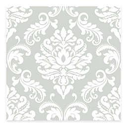 WallPops!® NuWallpaper™ Ariel Damask Peel & Stick Wallpaper in Grey