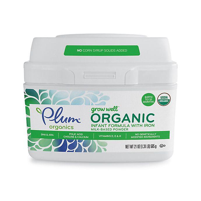 Alternate image 1 for Plum Organics™ Grow Well 21 oz. Organic Infant Formula