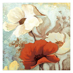 Pied Piper Creative Alluring Flowers 20-Inch x 20-Inch Canvas Wall Art