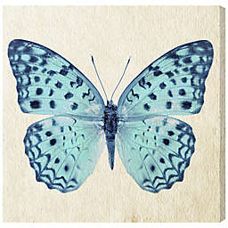Oliver Gal Blue Butterfly Canvas Wall Art