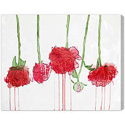 Oliver Gal Artist Co. Drying Carnations Canvas Wall Art